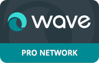 wave pro-network-badge