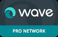 wave pro-network-badge