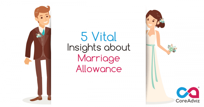 Insights about Marriage Allowance