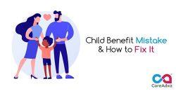Child Benefit Mistake