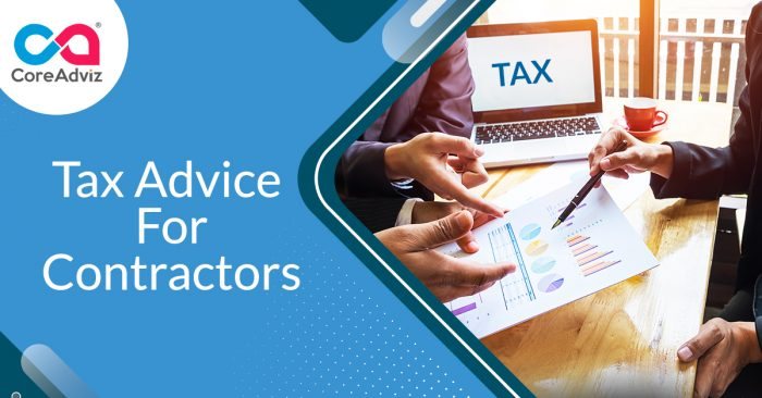 Tax Advice for Contractors